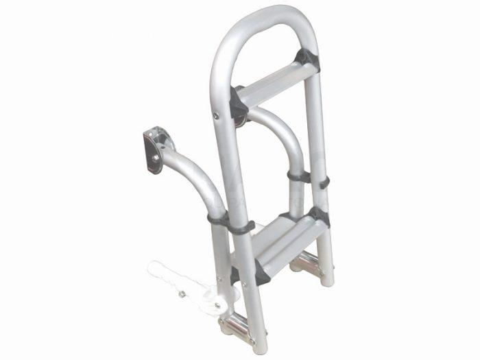 Escalera plegable aluminio 3 escalones Five Oceans