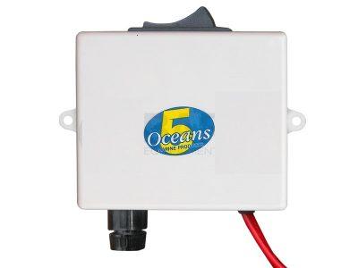 Respuesto caja pulsador y fusible para inodoro Five Oceans