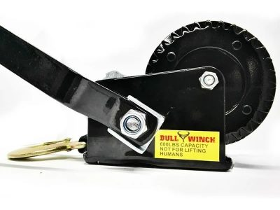 Malacate 600 Lbs (270) con cinta Bull Winch