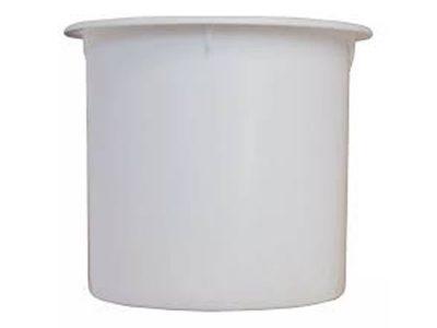 Posavaso para embutir plástico blanco Herrcarr