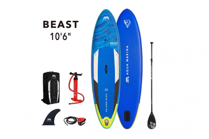 Tabla Sup Stand Up Paddle Inf. Beast 140 Kg c/acc