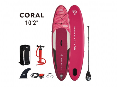 Tabla Sup Stand Up Paddle Inf. Coral 105 Kg c/acc