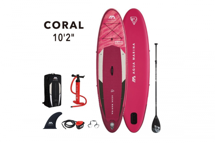 Tabla Sup Stand Up Paddle Inf. Coral 140 Kg c/acc